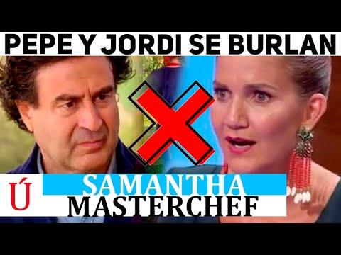 La humillación de Pepe y Jordi hacia Samantha en Masterchef Junior que desató la redes sociales