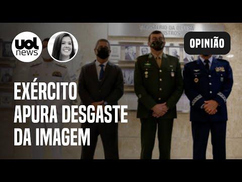 Exército quer contratar pesquisa para apurar desgaste de imagem   Carla Araújo