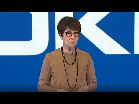 Sari Baldauf at Nokia Annual General Meeting 2021