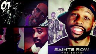 Saints Row 3 the Third Walkthrough Part 1 Intro - When Good Heists Go Bad