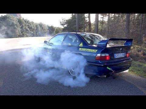 BMW M3 E36 Burnout!