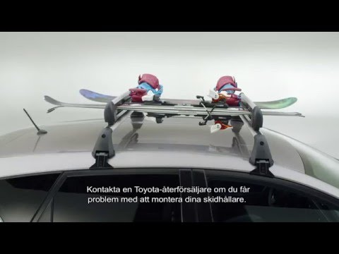 Toyota | Skid- och Snowboardhållare | Ski and Snowboard holder