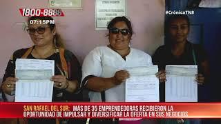 Mujeres de San Rafael del Sur y Villa El Carmen reciben financiamiento – Nicaragua