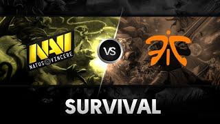 Survival by Na'Vi vs Fnatic @ESL One NY Qualifier EU