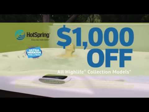 Hot Tub Prices Dropped In Factory Rebate Event