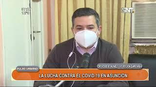 La lucha contra el covid-19 en Asunción