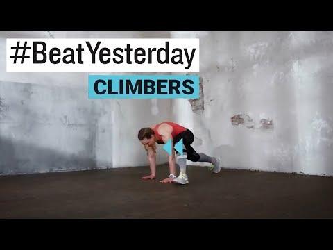 #BeatYesterday Workout Tutorial: Climber / Bergsteiger