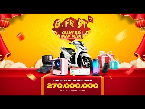 LIVE STREAM QUAY SỐ G-FEST 2021
