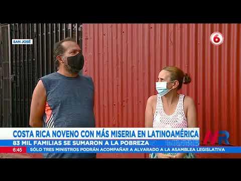 Costa Rica noveno país con más miseria en Latinoamérica