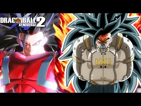 EVIL SAIYAN CUMBER! Golden Cooler Vs Super Saiyan Berserk Goku | Dragon Ball Xenoverse 2
