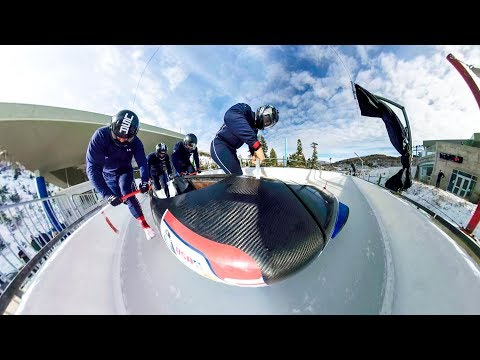 GoPro Fusion: Bobsled Run in Full 360 VR