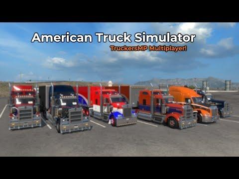American Truck Simulator - TruckersMP (Livestream 28/09/2018)