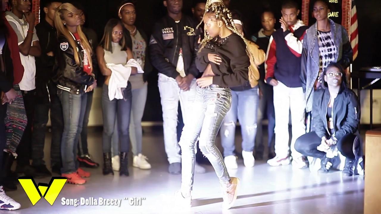 DA WARZONE- DANCE BATTLE -Qj vs.CB (Round 1) DOLLA BREEZY ''GIRL''