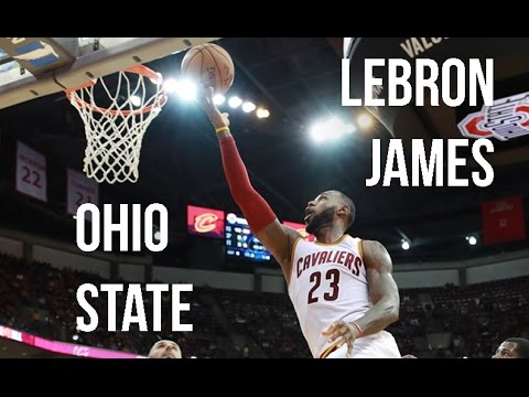 LeBron James' Performance At Ohio State In NBA Preseason!