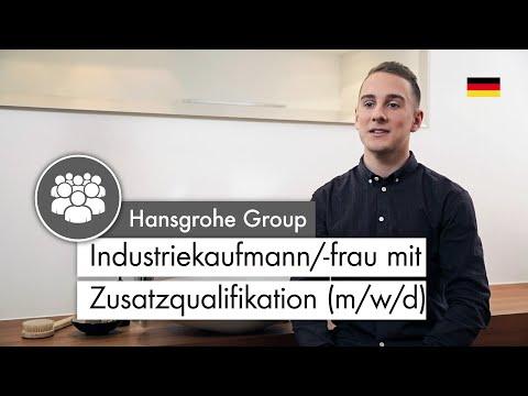 Industriekaufmann/-frau mit Zusatzqualifikation (m/w) | Das sagen Auszubildende bei Hansgrohe