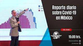 Informe diario sobre pandemia de Covid-19 en México | En Vivo (352)