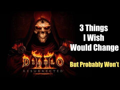 3 Things I Wish Diablo 2 Resurrected Would Change #D2R