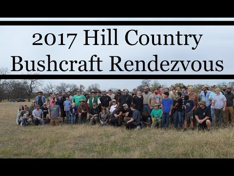 2017 Hill Country Bushcraft Rendezvous