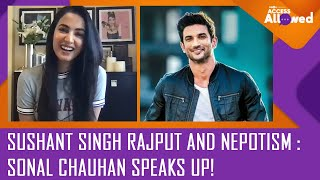 Sonal Chauhan OPENS UP on Sushant Singh Rajput's suicide and nepotism - ZOOMDEKHO