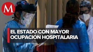 Tabasco encabeza ocupación hospitalaria por covid-19