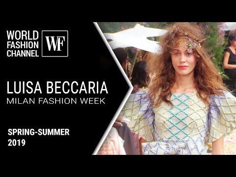 Luisa Beccaria ss 2019| Milan Fashion Week