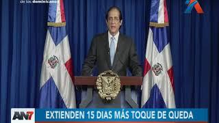 Extienden por 15 días más el toque de queda en República Dominicana