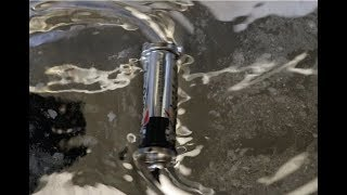 Battery And Magnets On Liquid Mercury