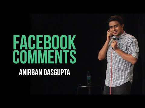 connectYoutube - Facebook Comments | Anirban Dasgupta stand-up comedy