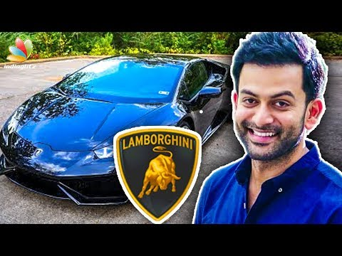 connectYoutube - Prithviraj Pays 43 Lakhs as Tax for his Brand New Sports Car | Latest News