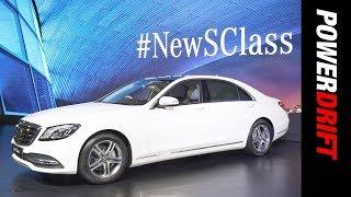 ಮರ್ಸಿಡಿಸ್ ಎಸ್ class : indias ಪ್ರಥಮ bs6 compliant car : powerdrift