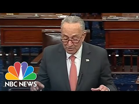 Schumer: McConnell Has 'Defiled The Senate' By Urging Vote On Supreme Court Nominee | NBC News NOW