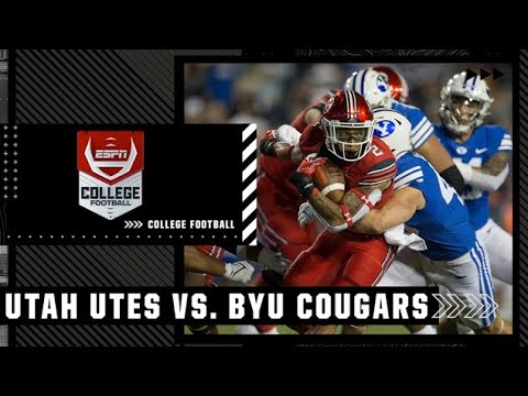 Utah Utes at BYU Cougars   Full Game Highlights