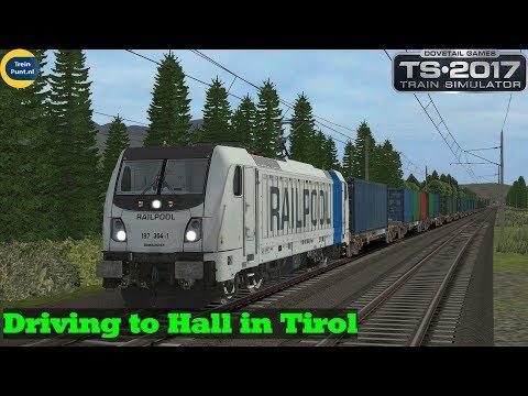RSSLO BR 187 Driving to Hall in Tirol  BR 187 RAILPOOL  Train Simulator 2017