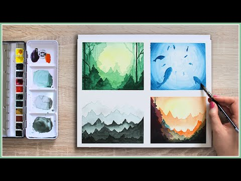 Make Your Watercolor Painting Look MAGICAL With These Easy Watercolor Techniques & Ideas!