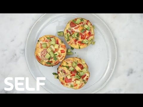 Healthy Low-Carb Egg Muffins Under 200 Calories
