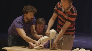 Blind Summit teaches puppetry at Stanford's Bing Concert Hall