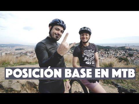 POSICIÓN BASE EN MTB | Valentí Sanjuan y Laura Celdrán