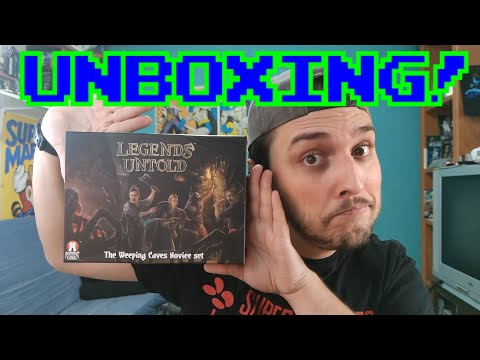 ROL CON CARTAS? || Legends Untold: Unboxing