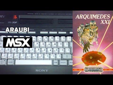 Arquimedes XXI (Dinamic, 1986) MSX [059] Walkthrough Comentado