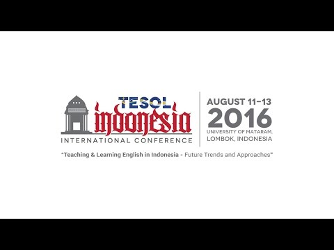 TESOL Indonesia 2016 Conference