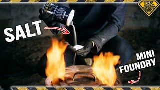 Melting SALT in a Furnace