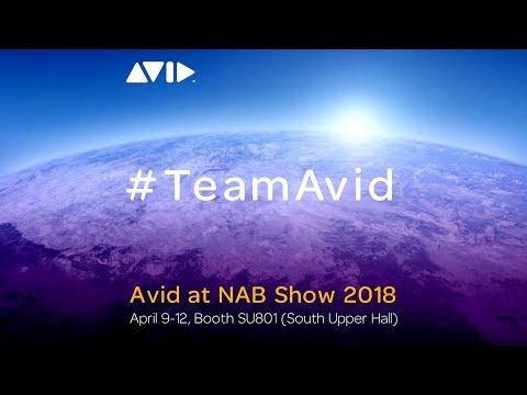 Avid at NAB Show 2018   #TeamAvid