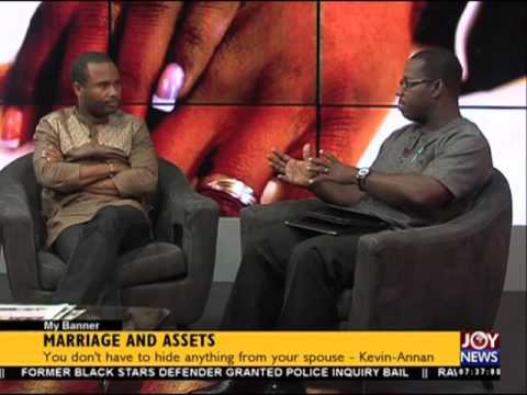 Marriage and assets - My banner on Joy News (27-5-16)
