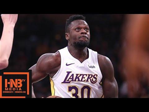 Los Angeles Lakers vs New York Knicks 1st Qtr Highlights / Jan 21 / 2017-18 NBA Season