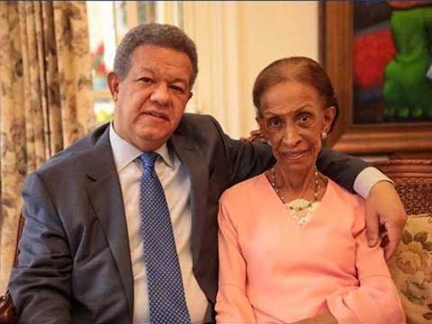 Fallece DOÑA YOLANDA REYNA, madre Leonel Fernández