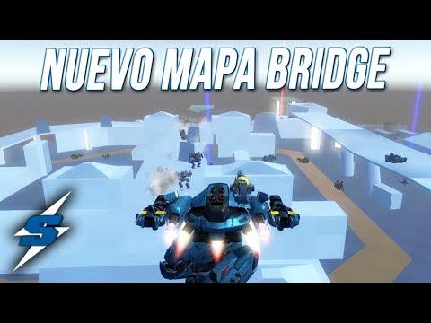 NUEVO MAPA BRIDGE en TEST SERVER | SORILOKO War Robots