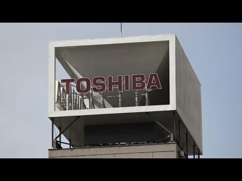 KKR, Brookfield Said to Eye Toshiba Bids After CVC Offer