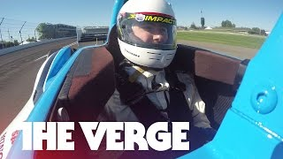 The terrifying fun of going 180 mph in an IndyCar