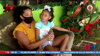 Una niña limonense sufre una enfermedad degenerativa que le dificulta hablar y caminar
