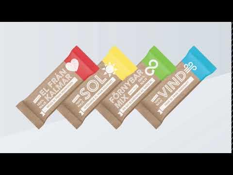 Prova någon av våra nya smaker! 100% fossilfritt!